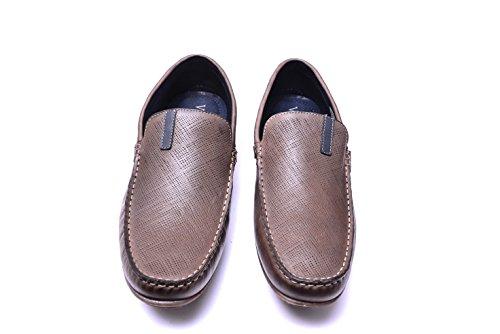 Vogar Cuero Mocasines Verano Zapatos Marrón VG5056 Hombre 11U5rWxfqw