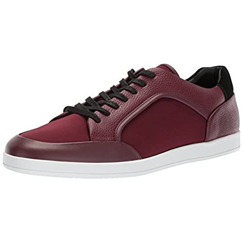 Calvin Klein Men's Mason Brushed Leather Sneaker