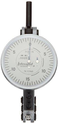 - Brown & Sharpe TESA 74.111965 Interapid 312 Dial Test Indicator, Horizontal Type, M1.7x4 Thread, 0.157