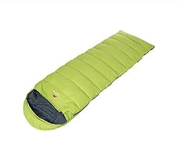 Naturehike edredón Camping saco de dormir Envelope saco de dormir abajo saco de dormir, hombre mujer, verde claro: Amazon.es: Deportes y aire libre