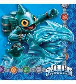 Skylanders Evergreen Napkin (S) 16ct [Contains 7 Manufacturer Retail Unit(s) Per Amazon Combined Package Sales Unit] - SKU# 501328