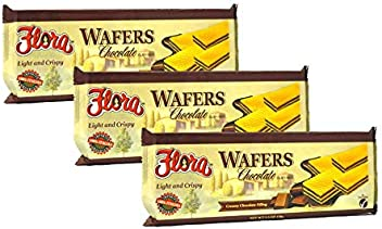 Wafer Cookies by Flora - Chocolate Wafers Imported from Italy - 5.3 oz. (Pack