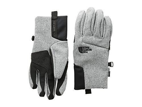 (The North Face Kids Unisex Apex + Etip¿ Gloves (Big Kids) Tnf Medium Grey Heather SM)