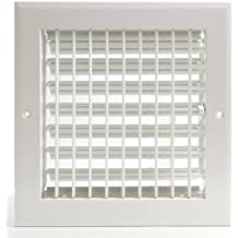 """6"""" x 6"""" ADJUSTABLE DIFFUSER - Vent Duct Cover - Grille Register - Sidewall or Cieling - High Airflow"""