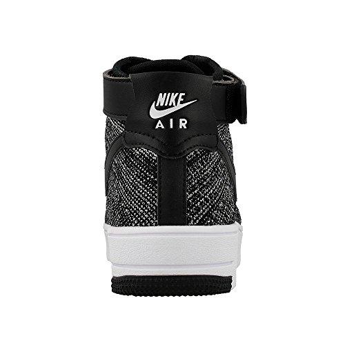 Nike Af1 Ultra Flyknit Moyenne Enfant, Noir / blanc-noir