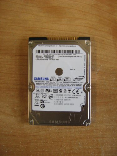 (Spinpoint HM160HC 160 GB  2.5 inch hard drive)