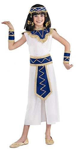 Egyptian Princess Cleopatra Child Costume-medium (Egyptian Costumes For Children)