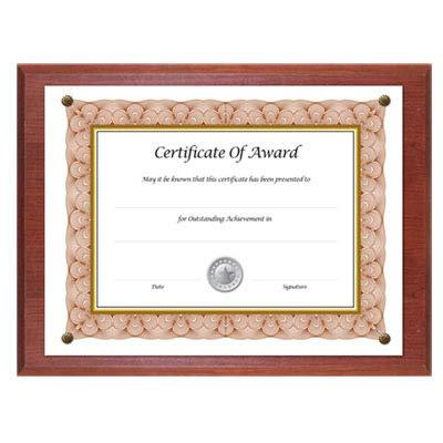 Nu-Dell Award-A-Plaque - 13quot; x 10.50quot; Frame - 11quot; x 8.50quot; Insert - Wall Mountable - Horizontal, Vertical - Acrylic - Mahogany