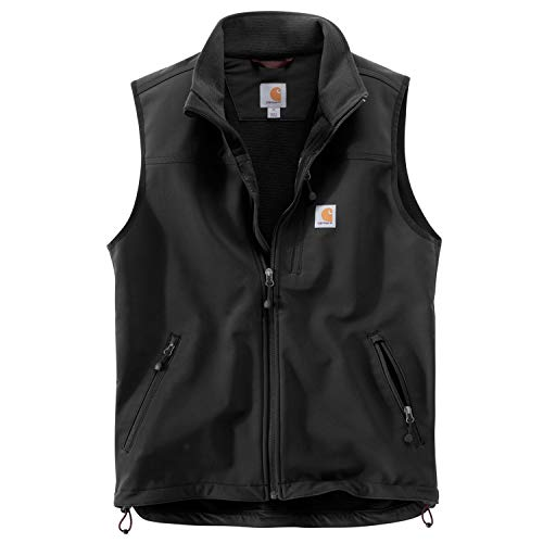 (Carhartt Men's Denwood Vest, Black Large)