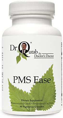 PMS Ease by Dr Qutab The Doctor's Doctor - Offers Natural Support for Women with Common Premenstrual Complaints, Provides Herbs That Have a Long History of Use in Women's Reproductive Health