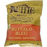 Kettle Brand Potato Chips, Buffalo Bleu, 2-Ounce Bags, (12 Count)