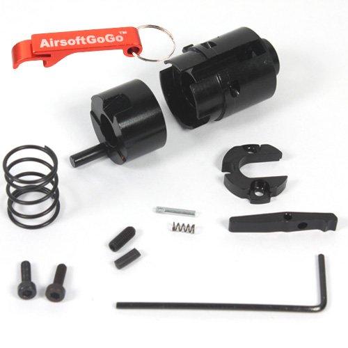 5KU AEG Barrel Type Hop Up Chamber for WA / G&P WOC M4 Series GBBR - Keychain Included by 5KU