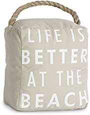Pavilion Gift Company 72152 at The Beach Door Stopper, 5 by 6-Inch