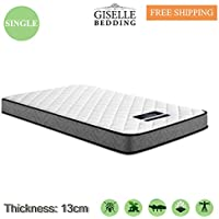 Giselle Bedding Foam Mattress Thickness 13cm Bonnell Spring Core Dust Mite Mould-Resistant (Single)