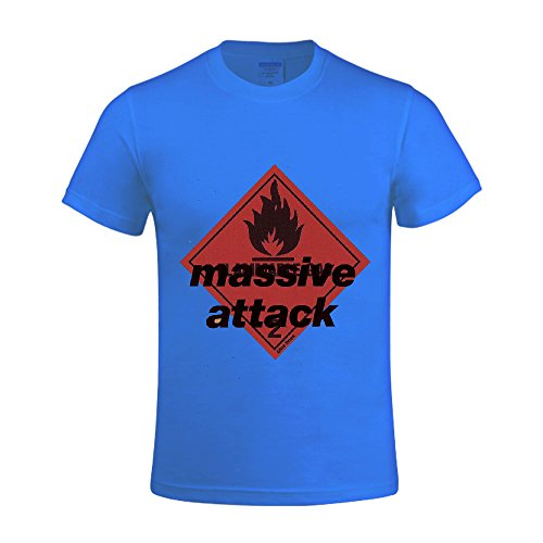 Massive Attack Blue Lines Men Shirts Crew Neck Sleeveless (Party City Bay Plaza)