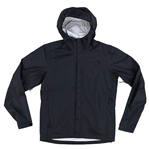 The North Face Men's Venture Rain Jacket, TNF Black, Large