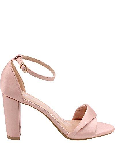 Moda Satin Heels - 3