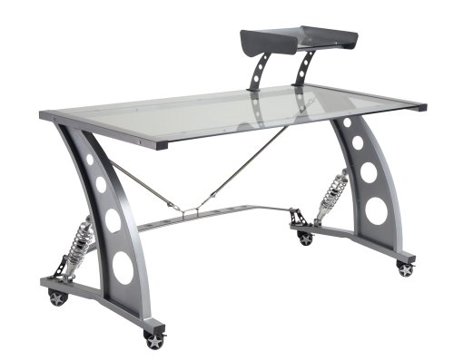 Alloys Spoiler - Pitstop Furniture PDF2000C Clear GT Spoiler Desk