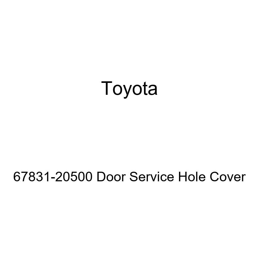 Genuine Toyota 67831-20500 Door Service Hole Cover