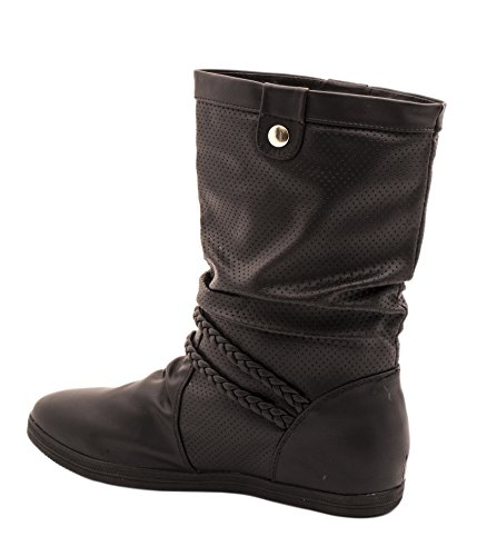 Elara - Botas Chelsea Mujer Negro - negro