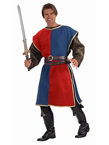 Forum Novelties Medieval Tabard Adult Costume Red - Standard