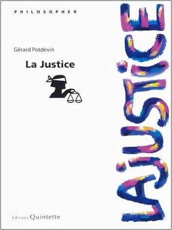 Lire un La Justice pdf