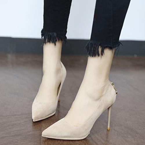 moda alto sera tacco stiletto e YMFIE e con da semplici alla Scarpe a A punta 1w4XO