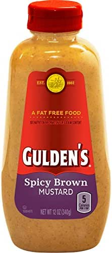 Mustard: Gulden's Spicy Brown
