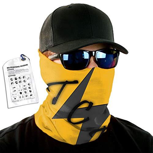 POOPEDD TCB Elvis Versatile Microfiber Sports Headwear for Men and Women, Resist Ultraviolet Ray