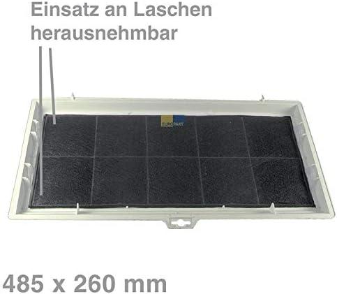 Filtro de carbón Original filtro con marco Campana Bosch/Siemens ...