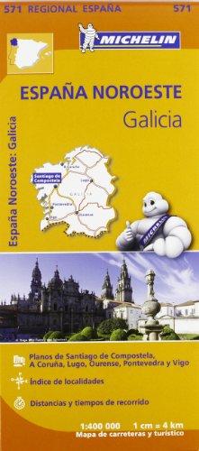 Galicia (Michelin Regional Maps)