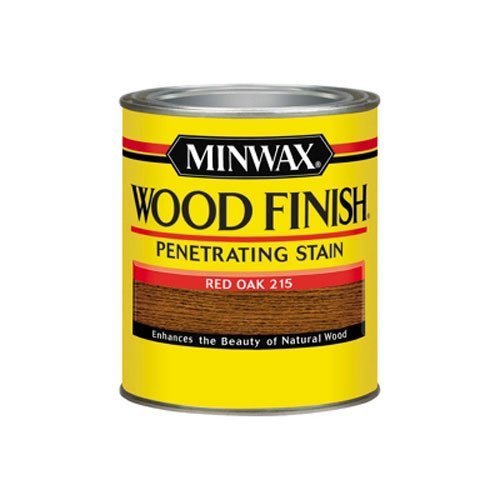 Minwax 70040444 Wood Finish Penetrating  Stain, quart, Re...