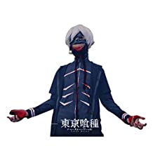 Tokyo Ghoul Mask Kaneki Ken Mask Uniform cosplay costume pre made