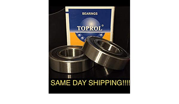 2 62//32-2RS 32x65x17 32mm//65mm//17mm 62//32RS Ball Sealed Radial Ball Bearings