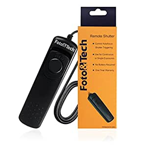 FotoTech - Cable disparador para Nikon D610 (equivalente a MC-DC2, se incluye funda de terciopelo)