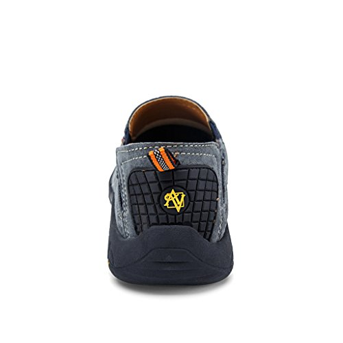 Ivao Uomo Walking Jungle Moc Mocassino Slip-on Grigio