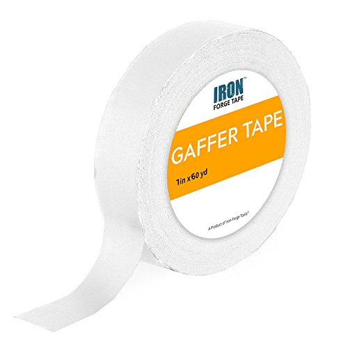 White Gaffers Tape - 1in x 60 Yards Gaffer Tape Roll