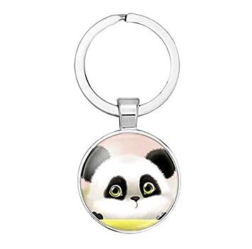 Bebé Panda llavero oso panda animal joyas asiático Wildlife ...
