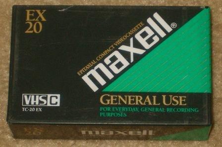 Maxell TC-20EX VHSC