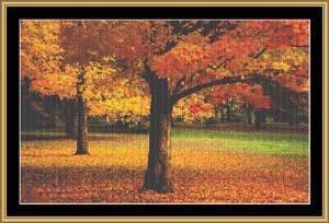 Mystic Stitch Chart - Autumn Peace Cross Stitch Chart