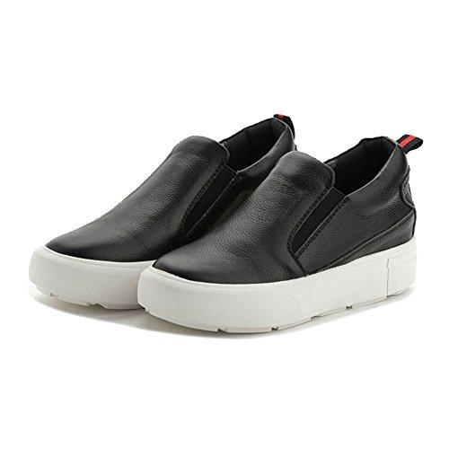 Women's Platform Loafers Sneaker Wedge Heel Flat Athletic Running Shoes (Sneakers Womes)