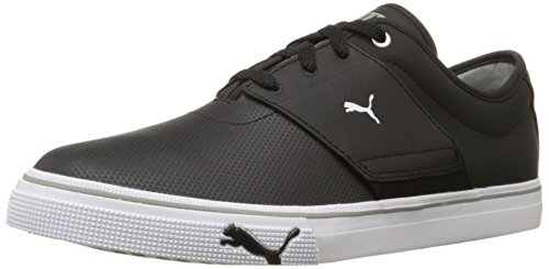 PUMA Men's EL Ace Core+ Sneaker,Black,10 M US