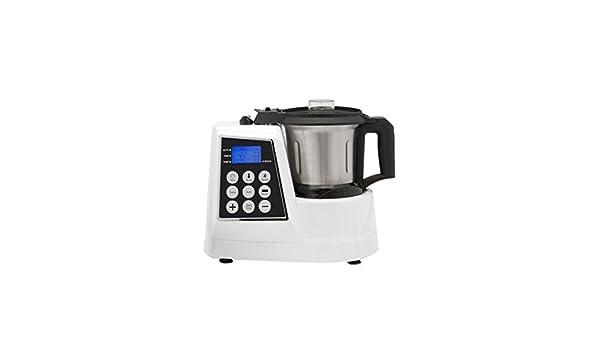 Cook Mix Robot De Cocina Multifunción 12 En 1 Blanco: Amazon.es: Hogar