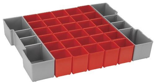 Bosch Bosch ORG1A-RED Organizer Set for L-BOXX-1A, Part of Click and Go Mobile Transport System, 32-Piece by Bosch (Image #1)