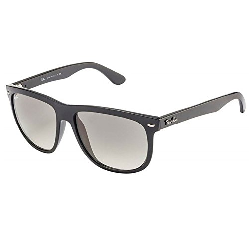 Ray-Ban RB4147 Unisex Square Sunglasses (Black Frame/ Crystal Grey Lens 601/32 , - Ban Sunglasses Ray Transition