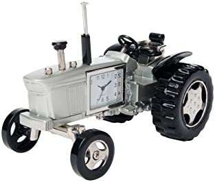 Sanis Enterprises SIL Tractor Desk Clock
