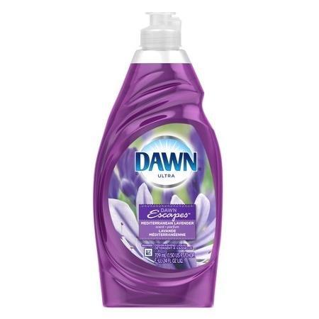 2 Pk, Dawn Ultra Mediterranean Lavender Scent Dishwashing Liquid Detergent (Dawn Dish Soap Lavender)