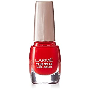 Lakmé True Wear Nail Color, Red 501, 9ml