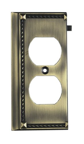 Elk 2506AB Antique Brass End Switch (Clickplate Antique)