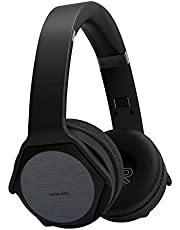 VEENAX Over-ear Wireless Headphones & Speaker 2 in 1 with Mega Bass, Build-in Mic, NFC Function, Rechargeable Stereo Bluetooth 4.2 Headset for Cell Phone & Tablet